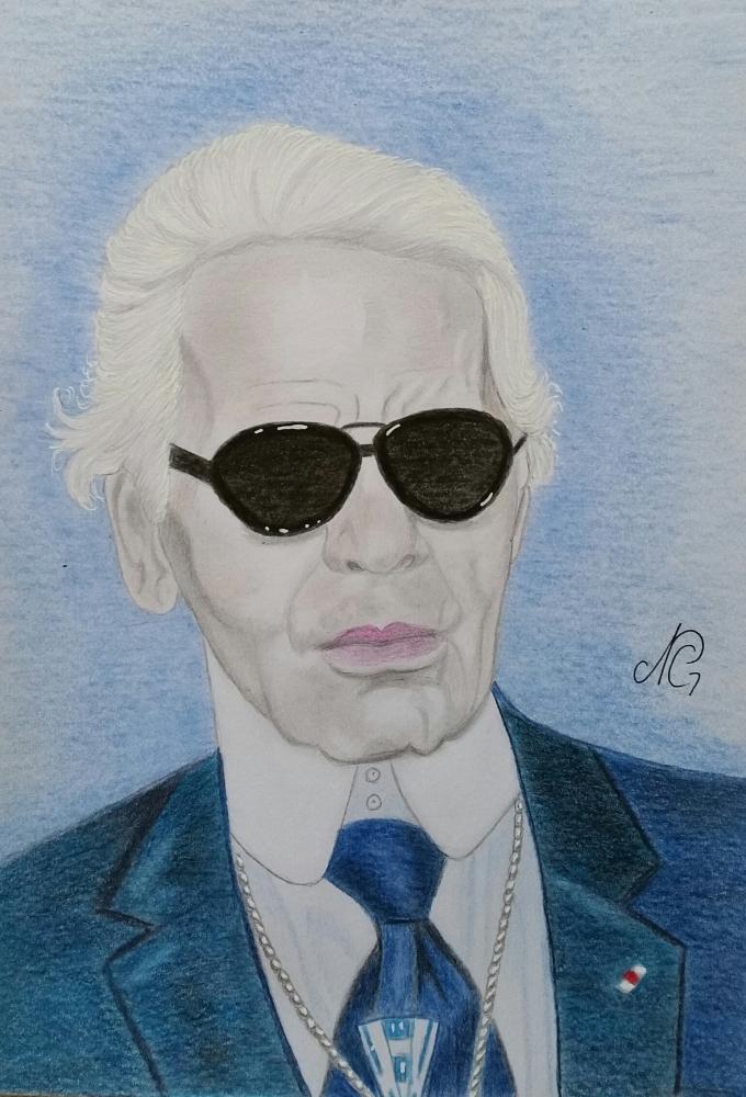 Karl Lagerfeld par Nicky08
